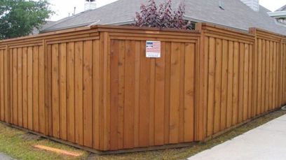 Wood Fencing Upchurch Fence Company
